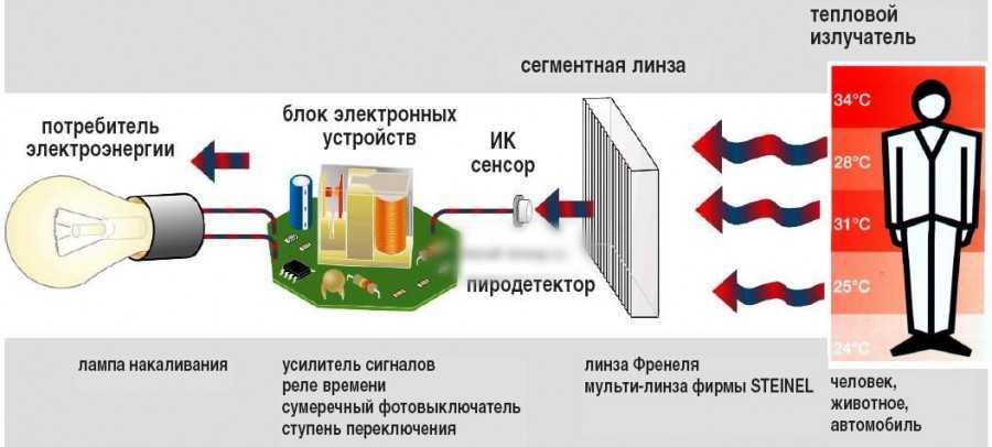 Как установить детектор движения
