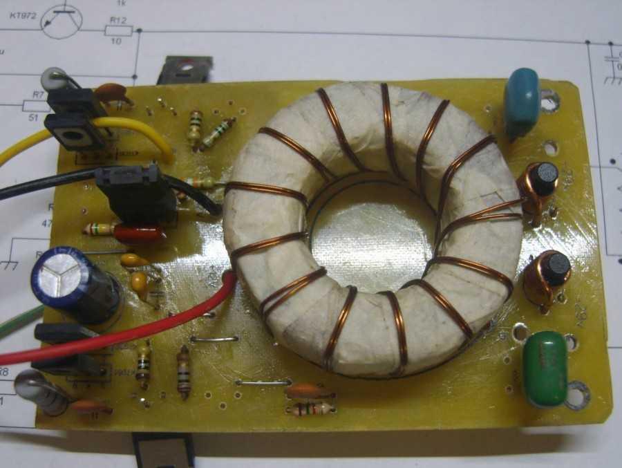 трансформатор для инвертора 12 220 своими руками