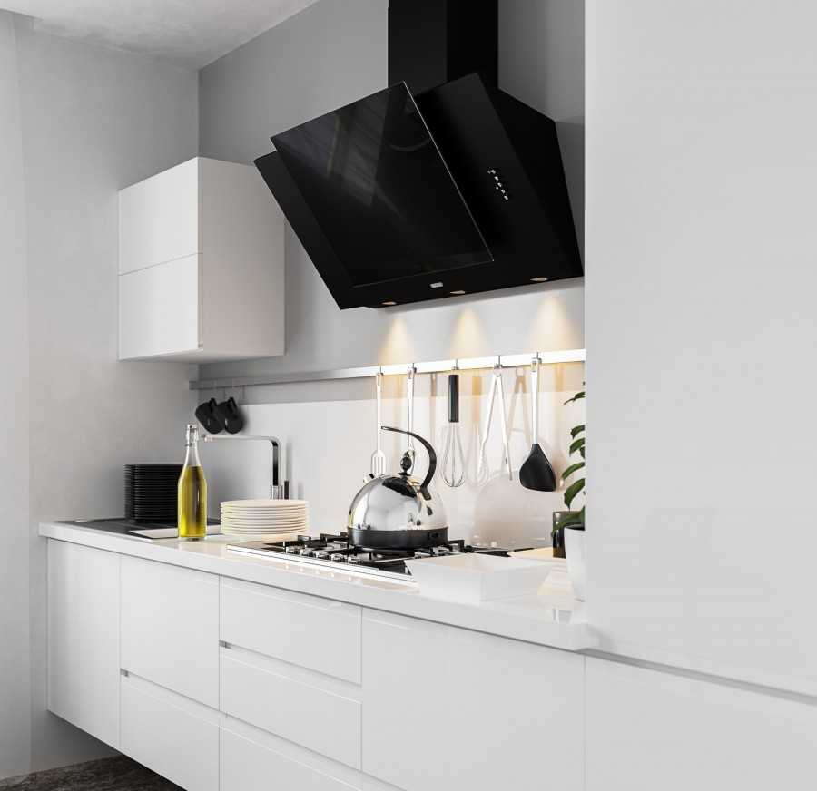 дизайн кухни с наклонной вытяжкой фото летать, живет