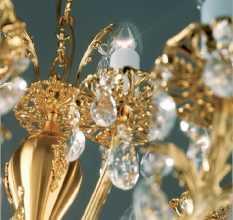 Хрустальные люстры — роскошные идеи оформления