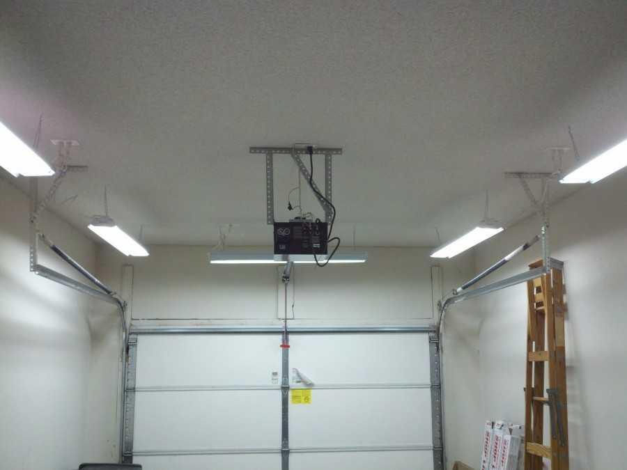Как сделать светильник в гараж своими руками 56