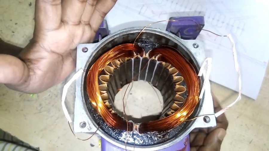 Перематываем электродвигателя своими руками