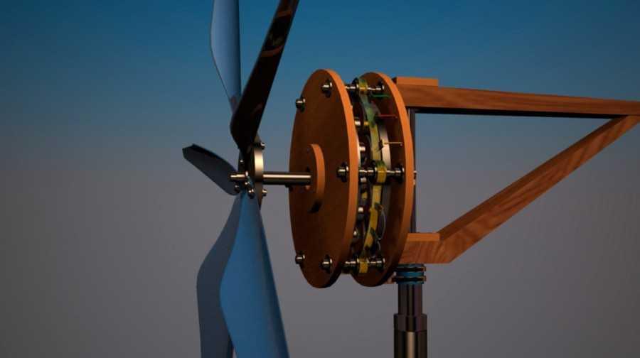 Как сделать ветрогенератор на 220В своими руками обзор лучших моделей и советы по выбору модели генератора 100 фото