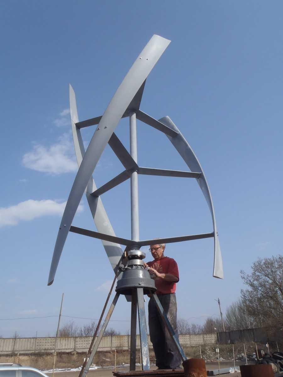 Ветренная станция своими руками